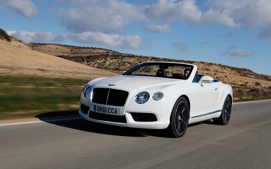 Bentley Continental GTC - Power Service Luxury Car Hire