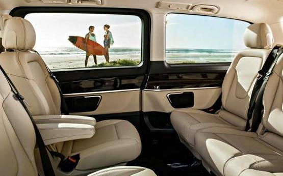 Mercedes V Class power service luxury car hire ferrari lamborghini porsche maserati mclaren mercedes bentley in italy tuscany europe florence rome milan monaco geneva nizza montecarlo