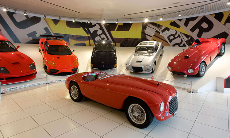 Ferrari Museum Tour 1 Day - Power Service Luxury Car Hire