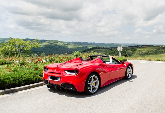 Ferrari 488 Spider - Power Service