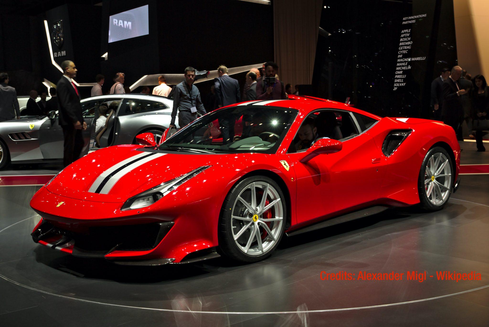 Ferrari 488 Pista - Power Service Luxury Car Hire