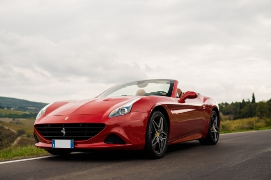 Ferrari California Turbo - Power Service Luxury Car Hire