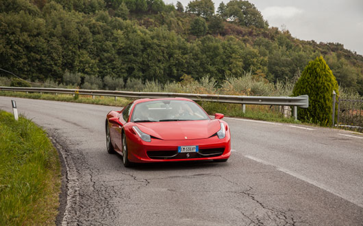 Ferrari 458 Italia Spider - Power Service