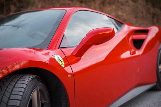 Ferrari 488 GTB - Power Service Luxury Car Hire