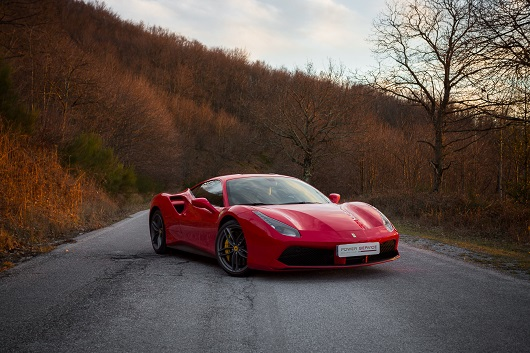 Ferrari 488 GTB - Power Service Luxury Car Hire