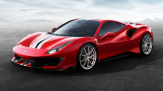 Ferrari 488 Pista - Power Service Luxury Car Hire
