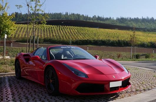 Ferrari 488 Spider - Power Service Luxury Car Hire
