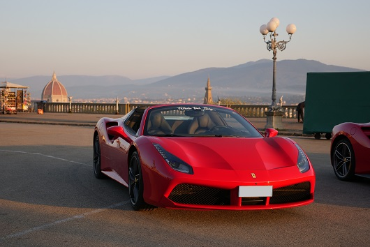 Ferrari 488 Spider - Power Service Luxury Car Hire