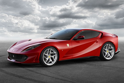 Ferrari 812 Superfast - Power Service Luxury Car Hire