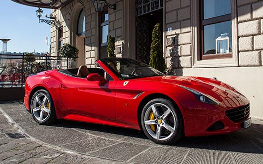 rent ferrari california turbo power service luxury car hire italy europe. Black Bedroom Furniture Sets. Home Design Ideas