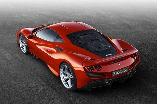 Ferrari F8 Tributo - Power Service Luxury Car Hire