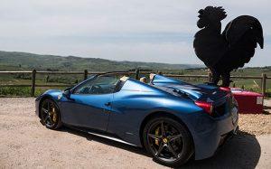 Rent Ferrari 458 Italia Spider in Rome - Power Service Luxury Car Hire in Italy and Europe