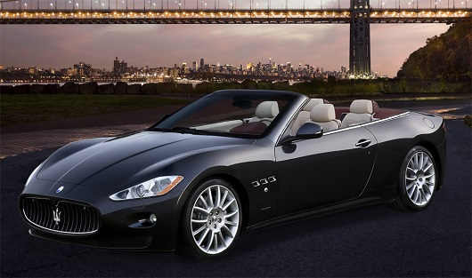Maserati Grancabrio Sport - Power Service Luxury Car Hire