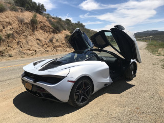McLaren 720S - Power Service Luxury Car Hire
