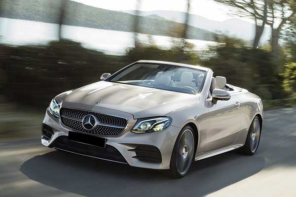 mercedes e class cabrio cabriolet power service luxury car hire