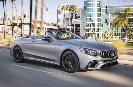 Mercedes S63 AMG Cabrio - Power Service Luxury Car Hire