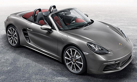 Porsche Boxster S 718 power service luxury car hire