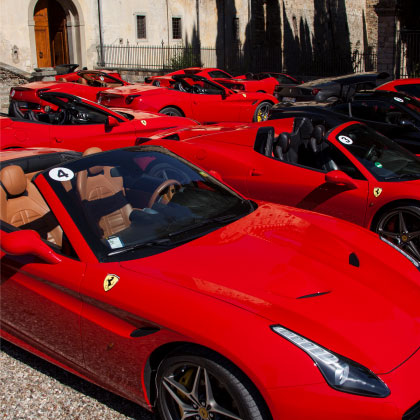 Full day tour ferrari Incentive Tour Italy power service luxury car hire