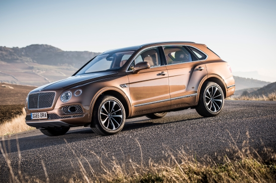 Bentley Bentayga power service luxury car hire