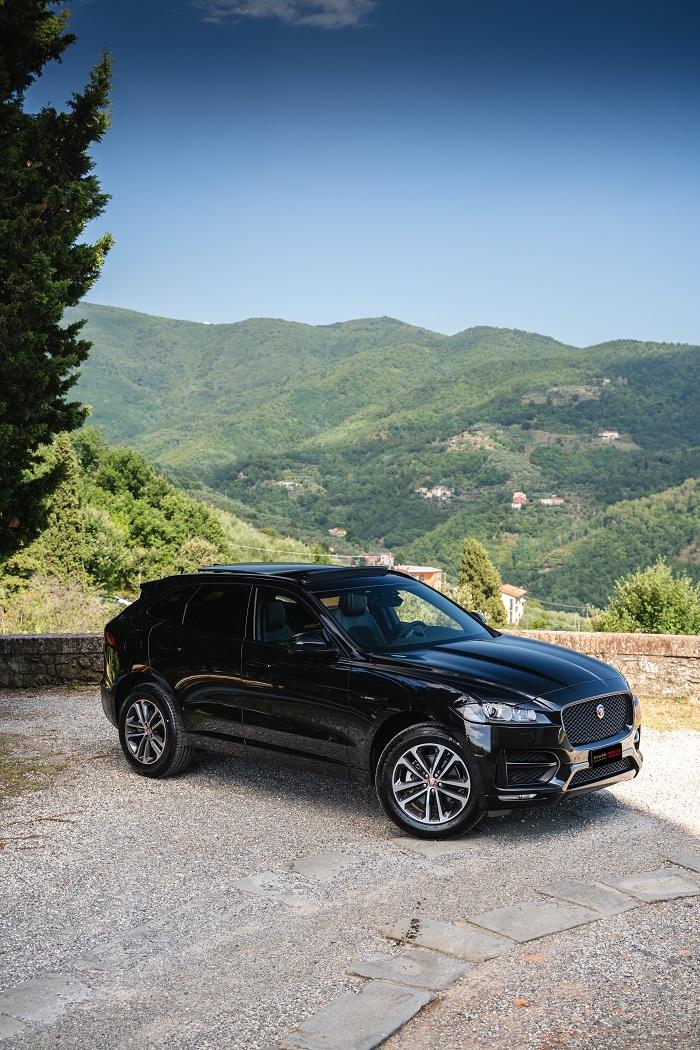 Jaguar F Pace - Power Service Luxury Car Hire