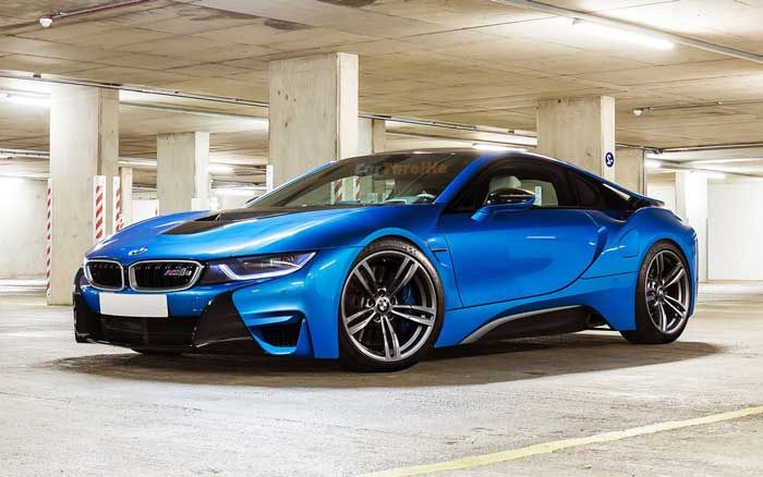 BMW i8 Coupe - Power Service
