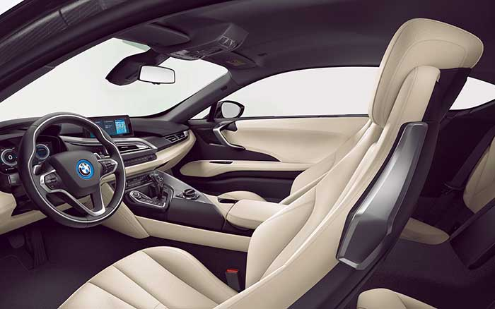 bmw i8 coupè power service luxury car hire