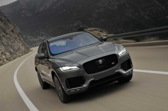 Jaguar F Pace power service luxury car hire
