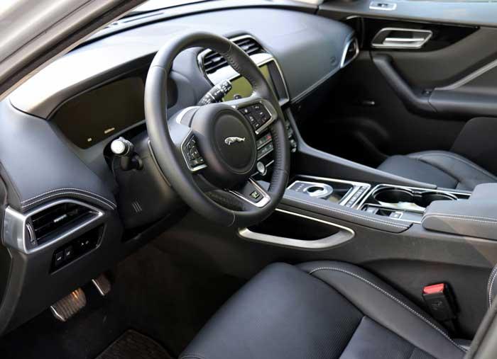 Jaguar F Pace power service luxury car hire