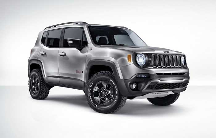 Jeep Renegade power service luxury car hire