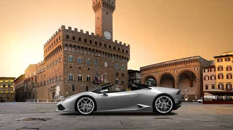 Rent your luxury car in Florence - Power Service