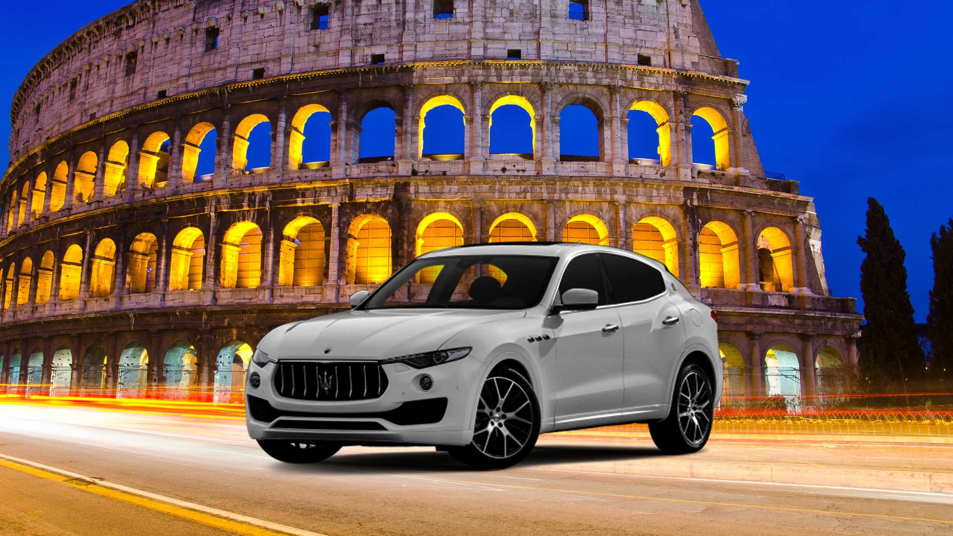 Rent your luxury car in Rome - Power Service