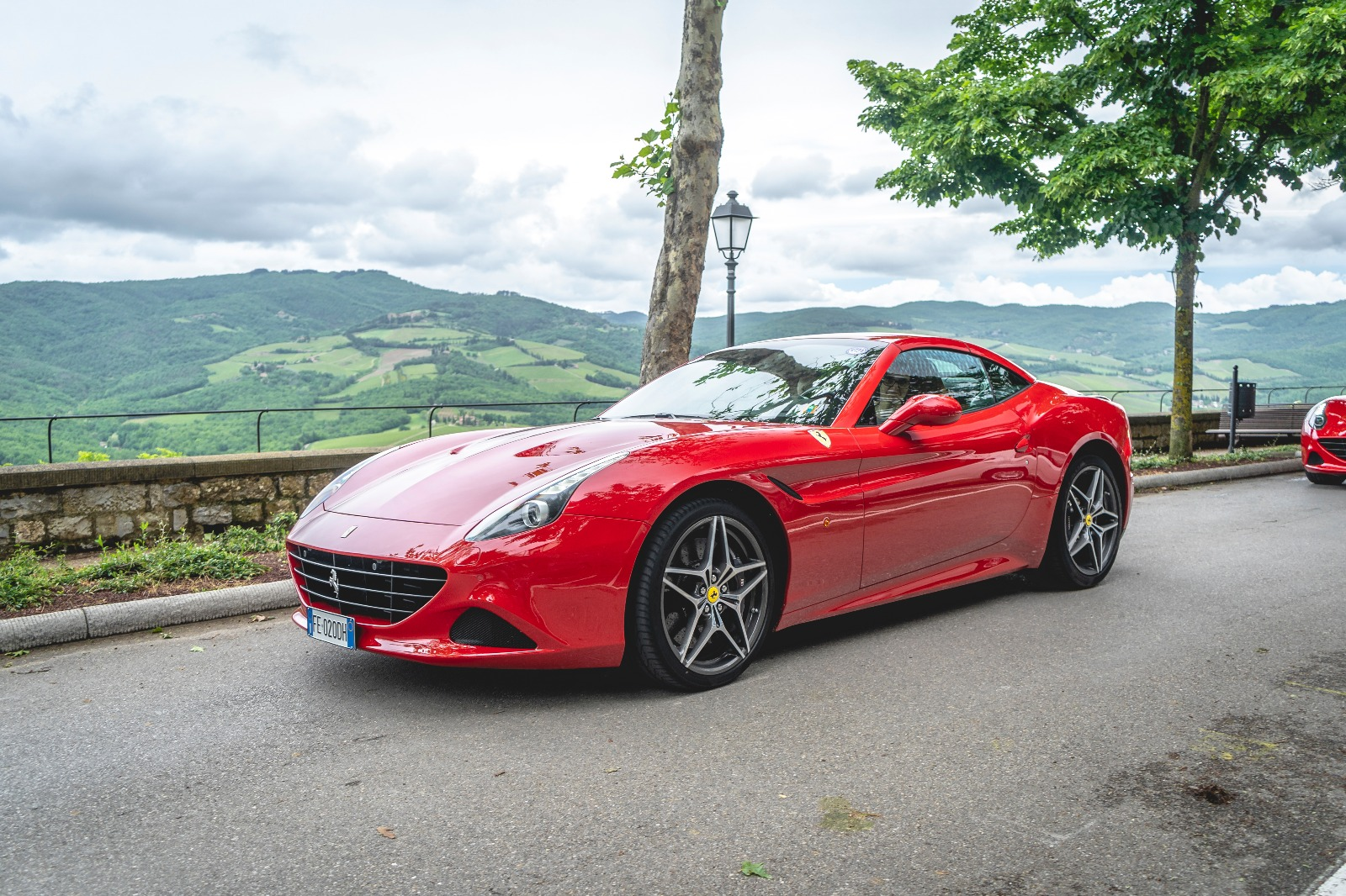 Rent a Ferrari California Turbo to explore Chianti hills -