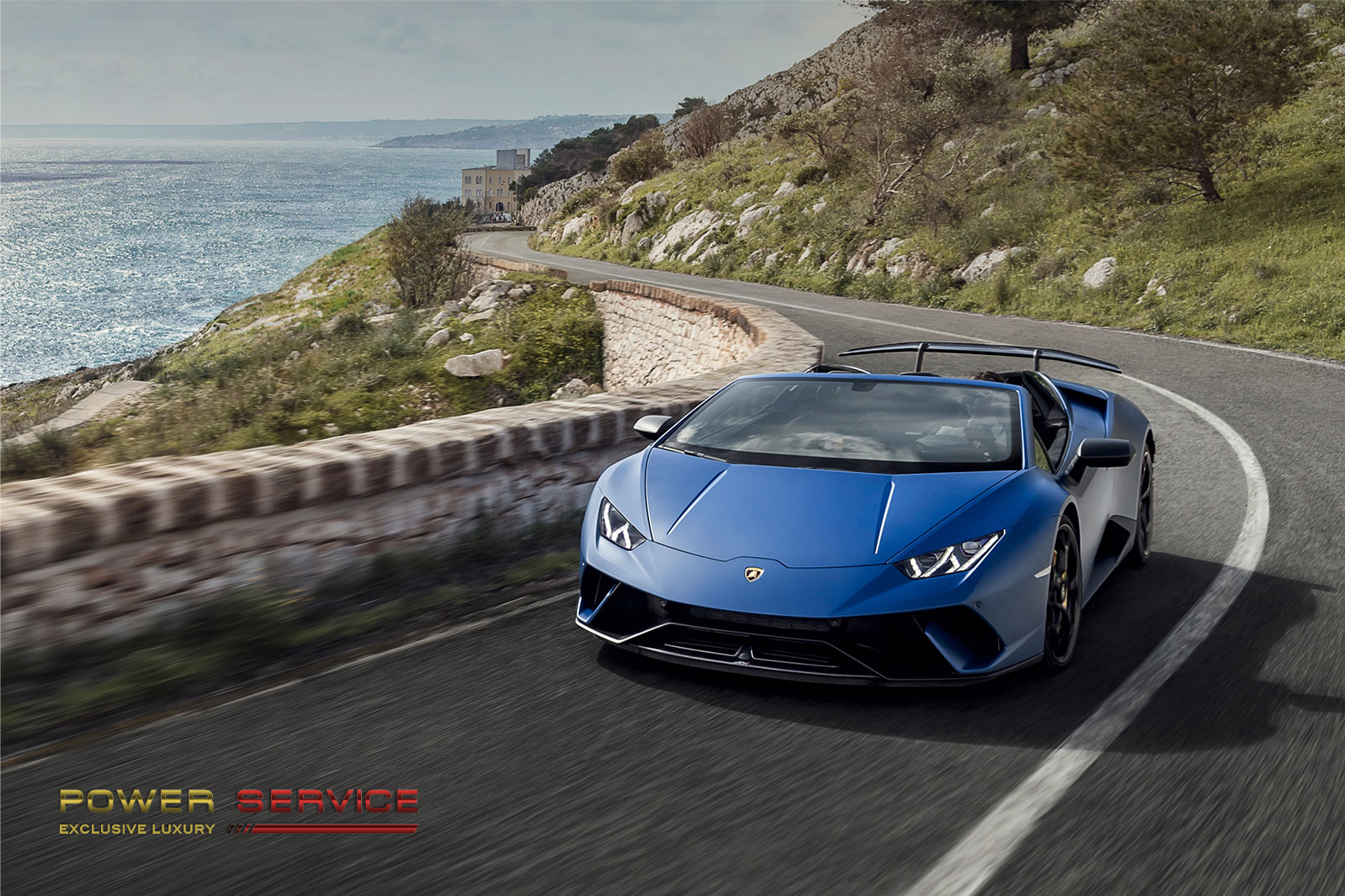 A trip in Milan and around Como Lake hiring a Lamborghini - Power Service Luxury Car Hire