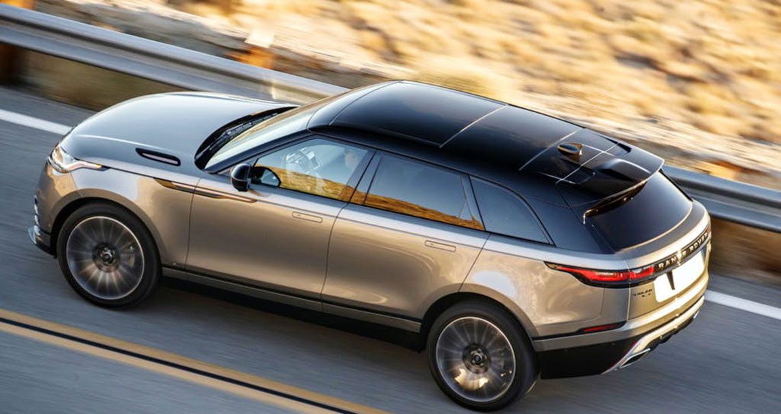RANGE ROVER VELAR from € 175,00 per day -