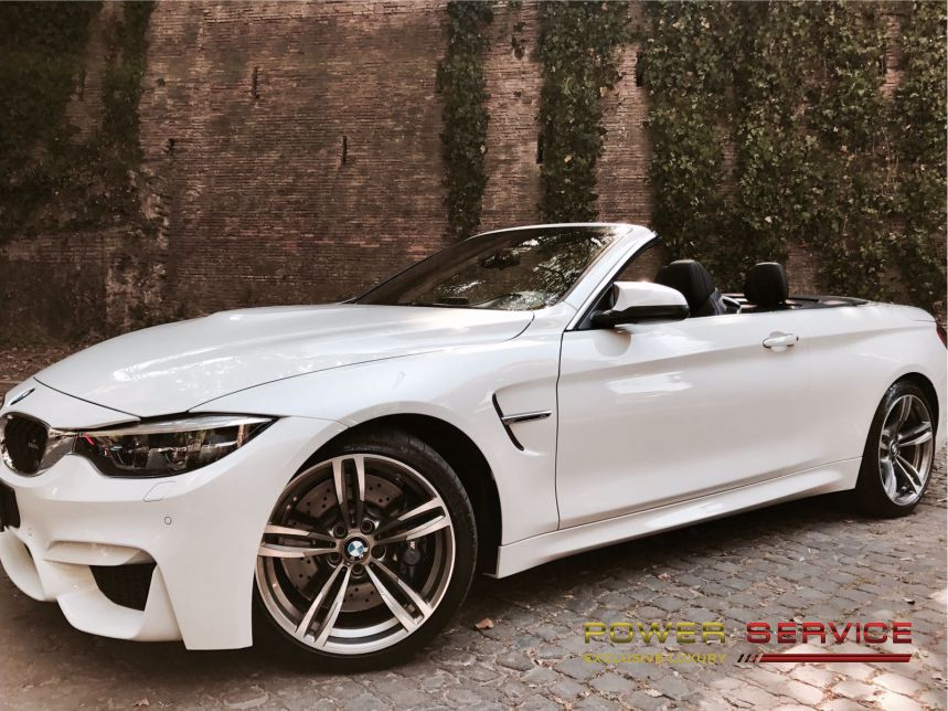 BMW M4 rental service to explore Amalfi Coast - Power Service Luxury Car Hire