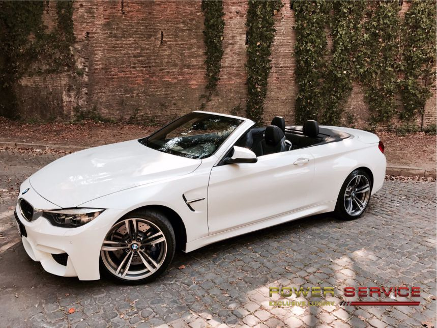 BMW M4 Cabrio rental service to explore Amalfi Coast - BMW M4 rental service to explore Amalfi Coast - Power Service Luxury Car Hire