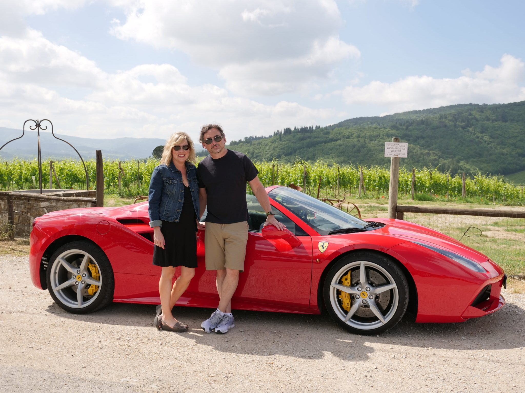 Ferrari tours in Tuscany: a customer feedback - Ferrari 488 Spider