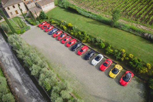 Ferrari Driving Experience in Italy with Power Service Luxury Car Hire -