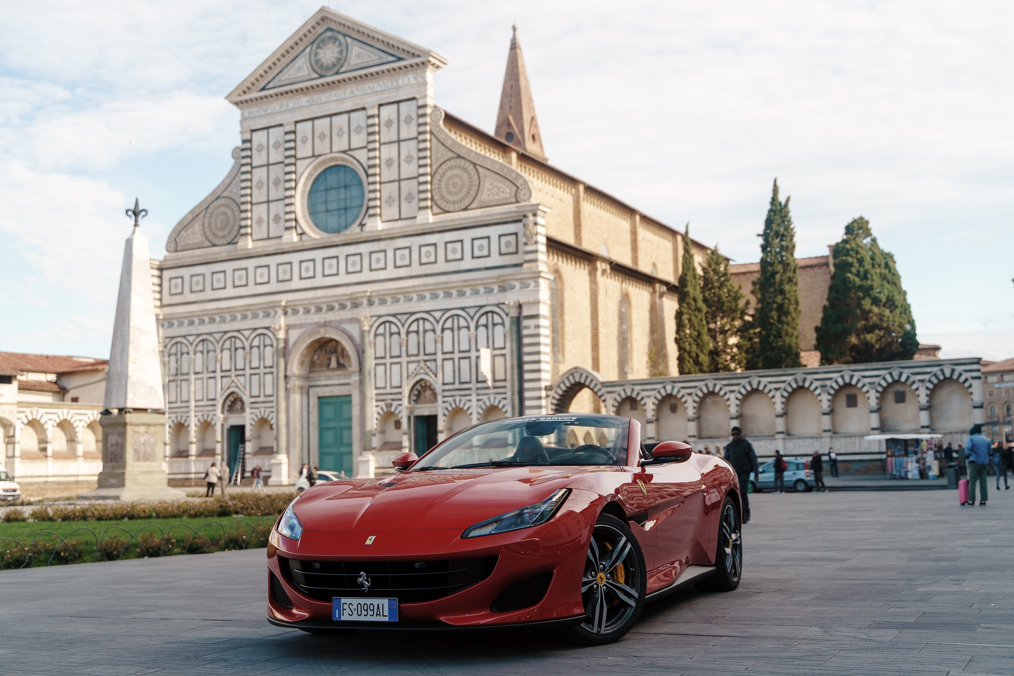 Rent your luxury car in Florence - Power Service Luxury Car Hire